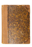 Old Brown Book Cover Stock Image