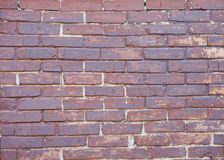 Old brown brick wall Royalty Free Stock Photo