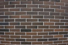 Old brown brick wall solid space square stone,. Old brown brick wall solid space square stone Stock Photography