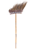 Old brown broom Royalty Free Stock Photography