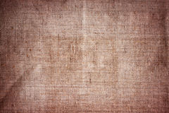 Old brown canvas Royalty Free Stock Image