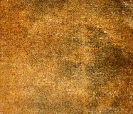 Old brown canvas texture or background Royalty Free Stock Photos