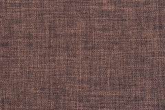 Old brown cloth texture Stock Photography