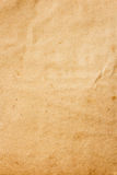 Old brown color paper. The texture of old brown color paper Stock Photography