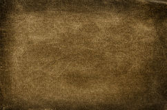 Old brown cotton background Royalty Free Stock Photo