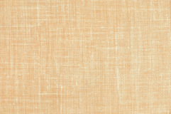 Old brown fabric background Stock Images