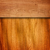 Old brown grungy wooden panels Royalty Free Stock Image