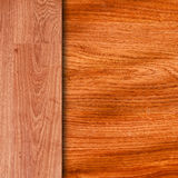 Old brown grungy wooden panels Stock Photo