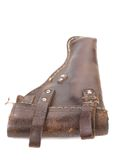 Old brown holster Royalty Free Stock Image