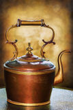 Old Brown Kettle Royalty Free Stock Image
