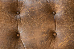 Old brown leather Royalty Free Stock Photography