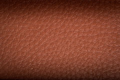 Old brown leather background. texture Stock Photo