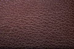 Old brown leather background. texture Stock Photography