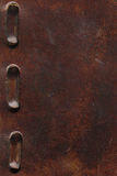 Old brown leather with belt Royalty Free Stock Photography
