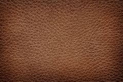 Old brown leather texture. The Old brown leather texture Royalty Free Stock Photos