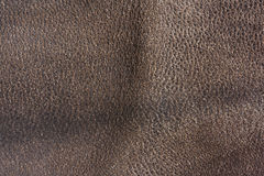 Old brown leather texture background Stock Photos