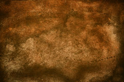 Old brown leather Royalty Free Stock Photo