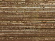 Old Brown Painted Peeled Wooden Background Royalty Free Stock Image