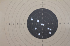 Old brown paper target Stock Photos