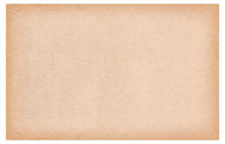 Old brown paper texture Stock Photography