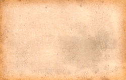 Old brown paper texture Royalty Free Stock Images