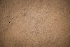 Old brown stucco clay wall Royalty Free Stock Photography