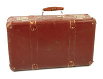 Old Brown Suitcase Royalty Free Stock Photo