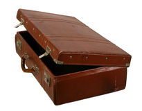 Old brown suitcase Royalty Free Stock Photography
