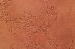 Old brown texture. Beautiful texture of brown. Dried painted clay stock image