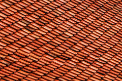 Old Brown Tile Pattern, Seamless Background Stock Images