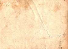 Old brown torn paper texture Royalty Free Stock Images