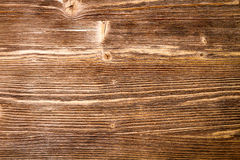 Old brown weathered plank Royalty Free Stock Image