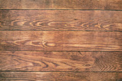 Old brown wood background, rustic wooden surface with copy space Royalty Free Stock Images