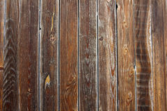 Old brown wood background Stock Images