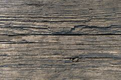Old brown wood board surface texture photo. Old brown wood board surface texture. Close-up of damaged wooden floor background Royalty Free Stock Photo