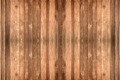 Old brown wood panel wall with textures. And backgrounds Royalty Free Stock Photos