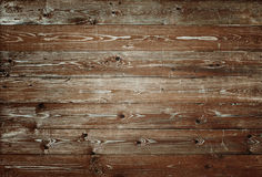 Old brown wood planks background Stock Photography