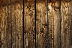 Old brown Wood Planks Wall Royalty Free Stock Photography