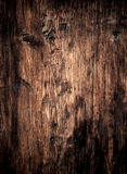 Old brown wood texture as background. Abstract wooden wall with Royalty Free Stock Photos