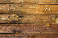 Old brown wood texture desk. Old wood texture for backgroung Stock Photography