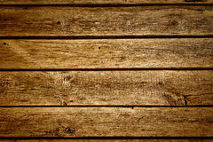 Old brown wood texture with natural patterns Royalty Free Stock Photo