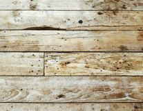 Old brown wooden background with horizontal boards Royalty Free Stock Image