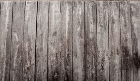 Old brown wooden board. Old brown wooden board with grooved joints nailed with nails Stock Photos