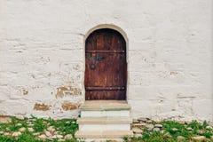 Free Old, Brown, Wooden Door. Stock Photography - 122407492