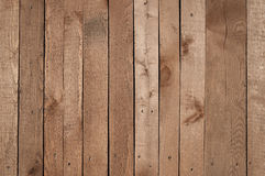 Old brown wooden fence background texture Stock Image