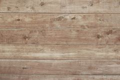 Old brown wooden fence background texture Royalty Free Stock Images