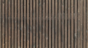 Old brown wooden fence, background texture Stock Image