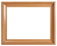 Old brown wooden frame Stock Photos
