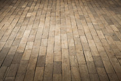 Old brown wooden parquet. Background photo Royalty Free Stock Photo