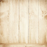 Old brown wooden planks texture with shelf. Stock Image